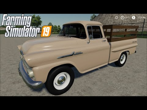 FS19 | 1958 Chevy Apache Task-Force