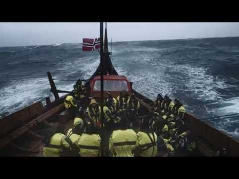 Draken in the North Sea storm