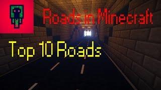 Minecraft Top 10 Roads: Tunnel [Full-HD]