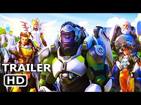 PS4 - Overwatch 2 Gameplay Trailer (2019) PS4