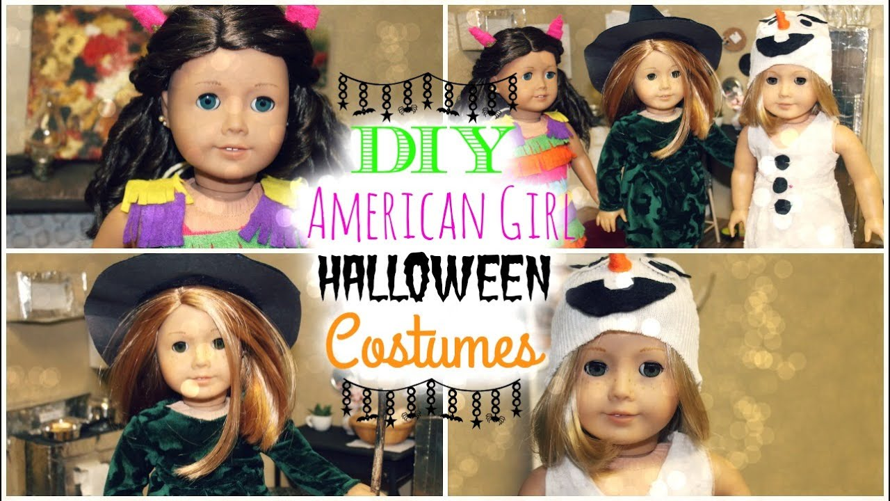 3 easy diy halloween costumes for american girl dolls - Gir Halloween Costumes