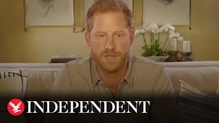 Prince Harry calls for 'doers, not sayers' over climate crisis