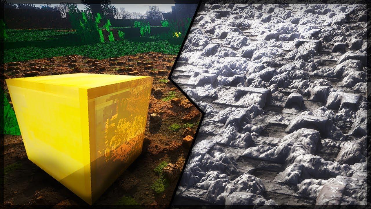 3d Interactive Wallpaper Minecraft Textura Realista 3d Craft 64x Shaders Pom