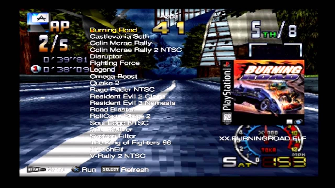 PS1 Games on OPL PS2