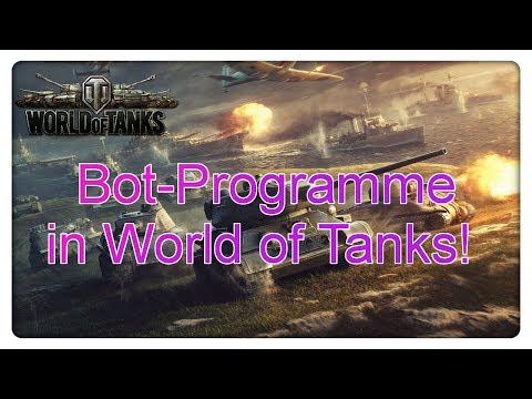 Bot-Programme in World of Tanks!
