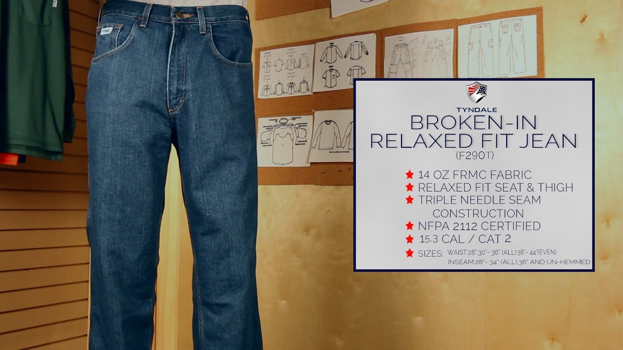 ff83fb416fa4 Broken In Relaxed Fit Jean F290T - YouTube