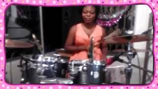 Ghana's number one female drummer  (Created with @Magisto)