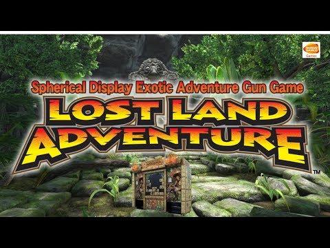 LOST LAND ADVENTURE - Arcade Machine @ Playland Arcade Santa Monica Pier