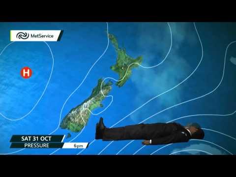 MetService Halloween Weather Forecast 2015