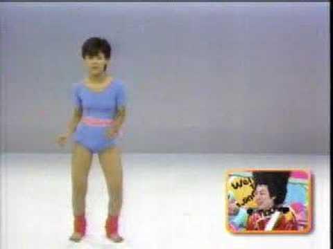 井森美幸 ホリプロオーディションの時のダンス。