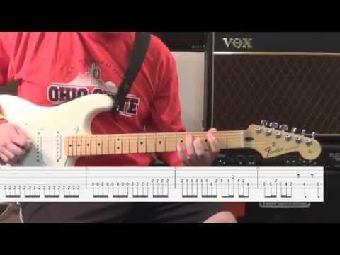 R U Mine? - Guitar Lesson Tutorial ONSCREEN TABS! - Arctic Monkeys