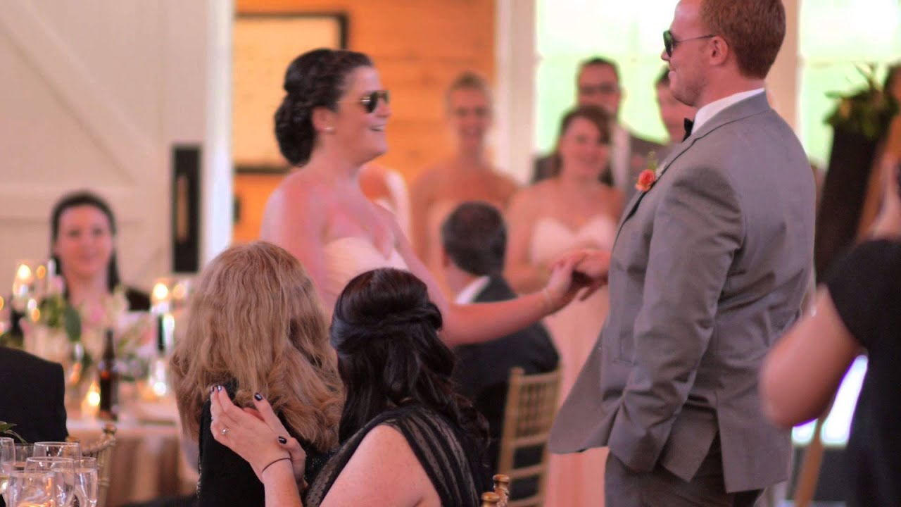 Bridal Party Intros And Dads Welcome Speech Youtube