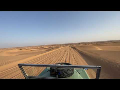 Desert Safári 2 in Dubai Desert Conservation Reserve.