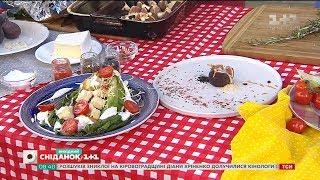Салат Цезар і інжир на грилі - рецепти від кулінара Євгена Клопотенка