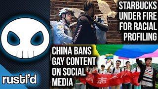 China bans LGBT content online. RIP R. Lee Ermey. #BoycottStarbucks