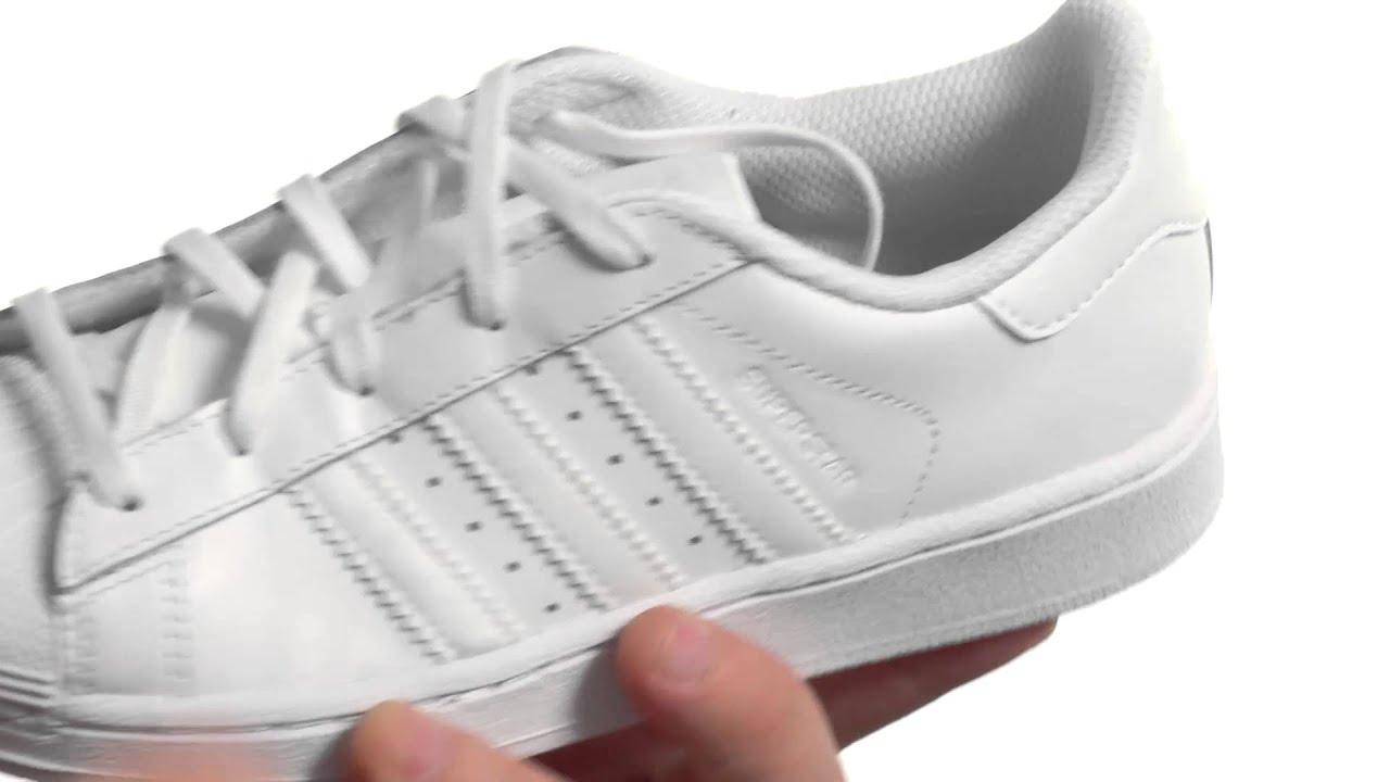 781636bfe207 adidas Originals Kids Superstar C Foundation (Little Kid) | Zappos.com