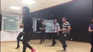 Cours chacha avec Fred