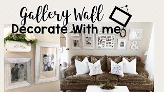 Gallery Wall Idea | Art To Frames | Decorate With Me