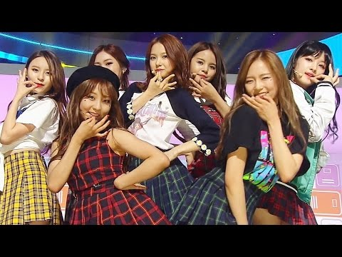 《Comeback Special》 CLC - No Oh Oh(아니야) @인기가요 Inkigayo 20160605