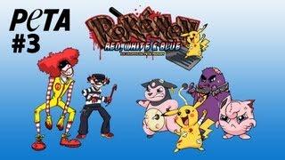 Pokémon Red, White & Blue -- PETA
