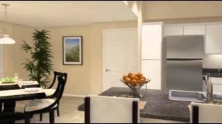 Casa Mira View: The Cabrillo 2 Bedroom Apartment Floorplan