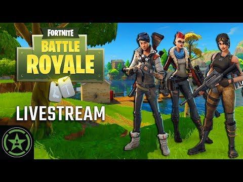 Achievement Hunter Live Stream Fortnite Battle Royale