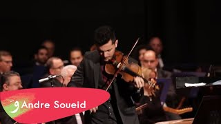 Ya Hobbi Li Ghab يا حبي اللي غاب  Andre Soueid With The Lebanese Oriental Orchestra