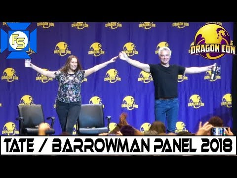 Catherine Tate & John Barrowman DOCTOR WHO Panel   Dragon Con 2018