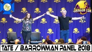 Catherine Tate & John Barrowman DOCTOR WHO Panel  - Dragon Con 2018
