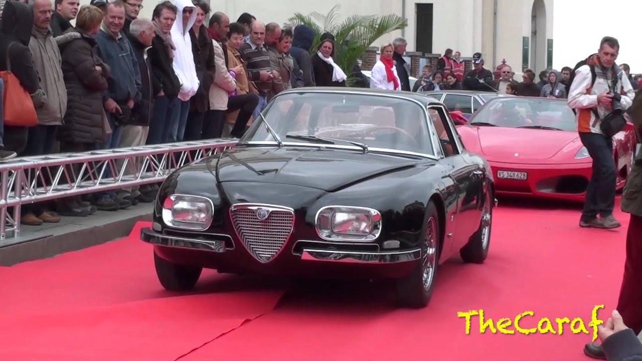 RARE! Alfa Romeo 2600 GT Coupe Zagato. 1 of 105. - YouTube