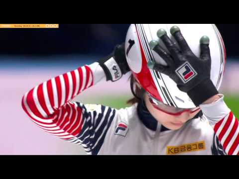 2016 17 Short Track World Championships , Rotterdam, Women 1500 Final A