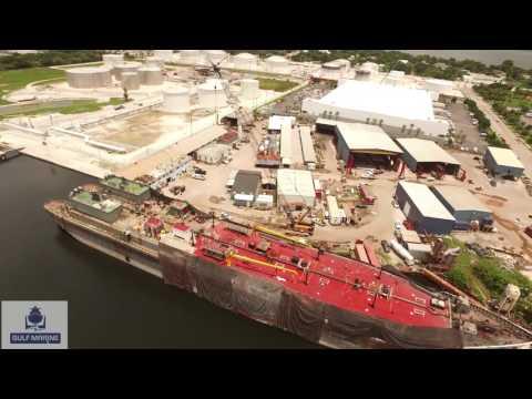 Gulf Marine Drone Footage