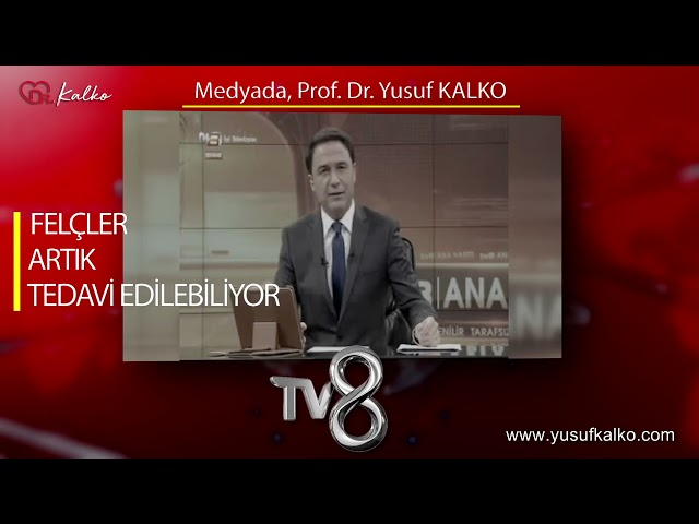 TV8 ANAHABER - FELÇLER ARTIK TEDAVİ EDİLEBİLİYOR... | Prof. Dr. Yusuf KALKO