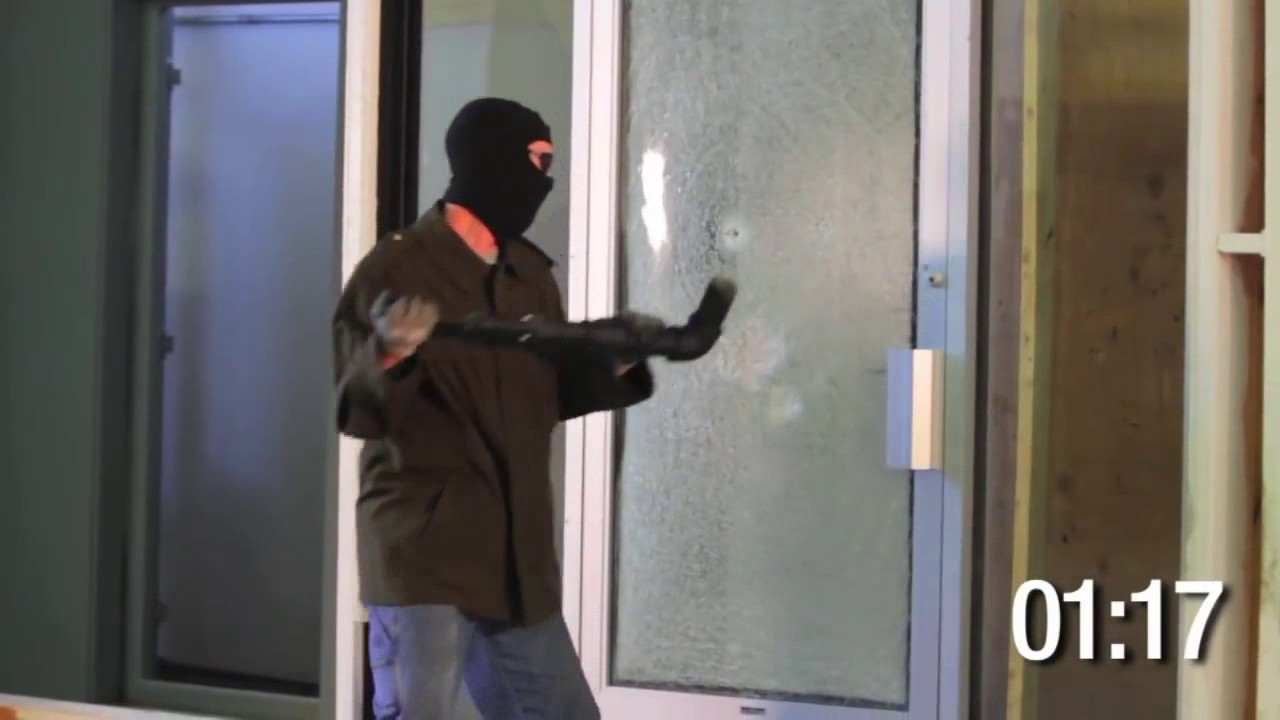 Denver Window Film Provides 3m Security Film Youtube
