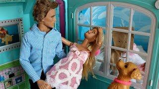 Что случилось у Кена и Анджелы?! Барби выгнала Кена. Часть 2