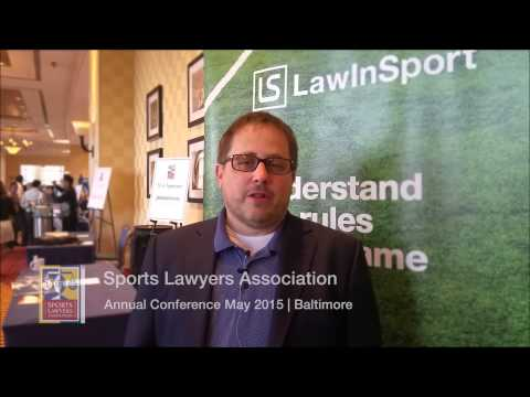 Jeff Benz - The biggest legal issues in Sport right now - LawInSport TV