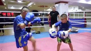 #SportsKG: Интернет айдыңын жарган кичинекей кыргыз кикбоксчулары