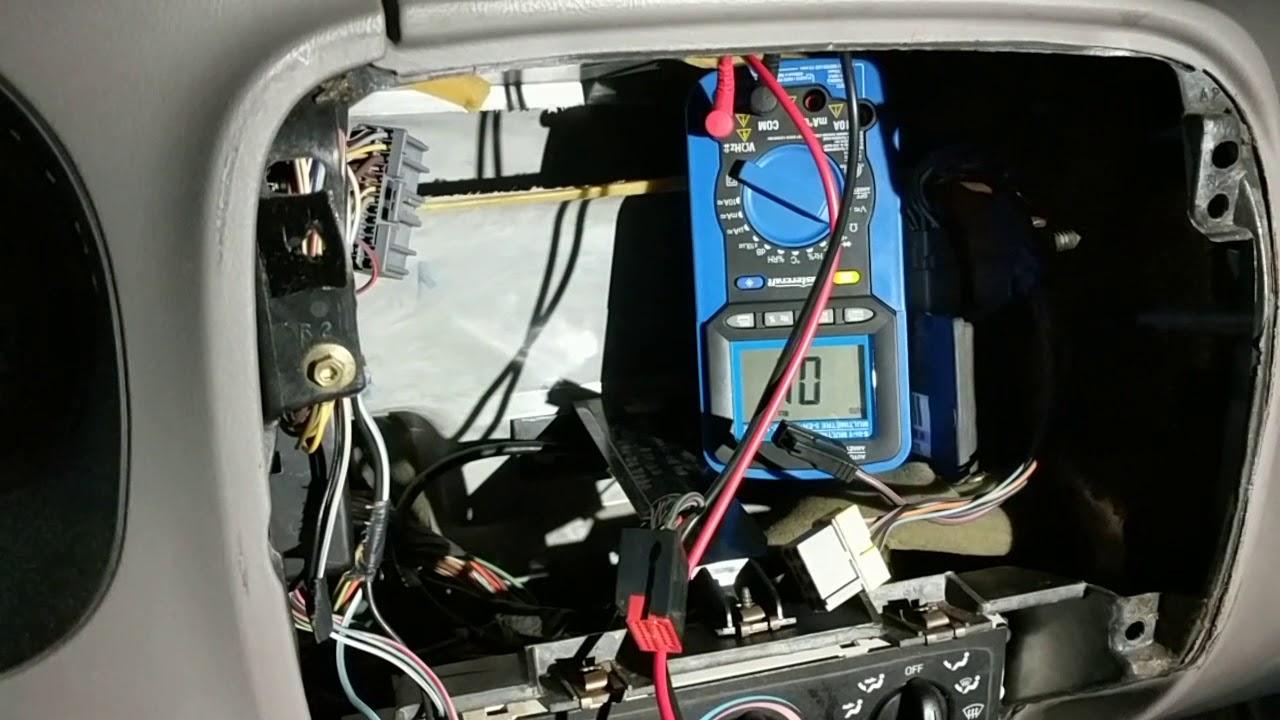 1998 ford ranger door ajar diagnostic [ 1280 x 720 Pixel ]