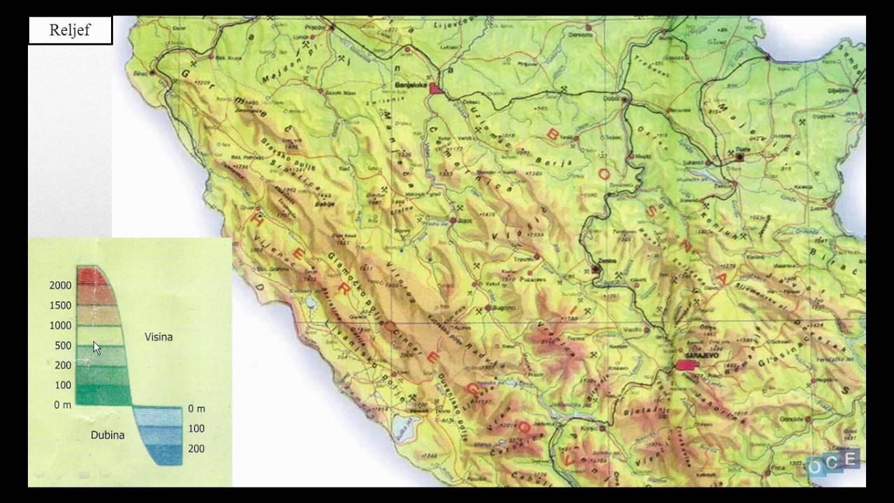 Vrste Geografski Karata Kartografski Znaci Kartografske Boje