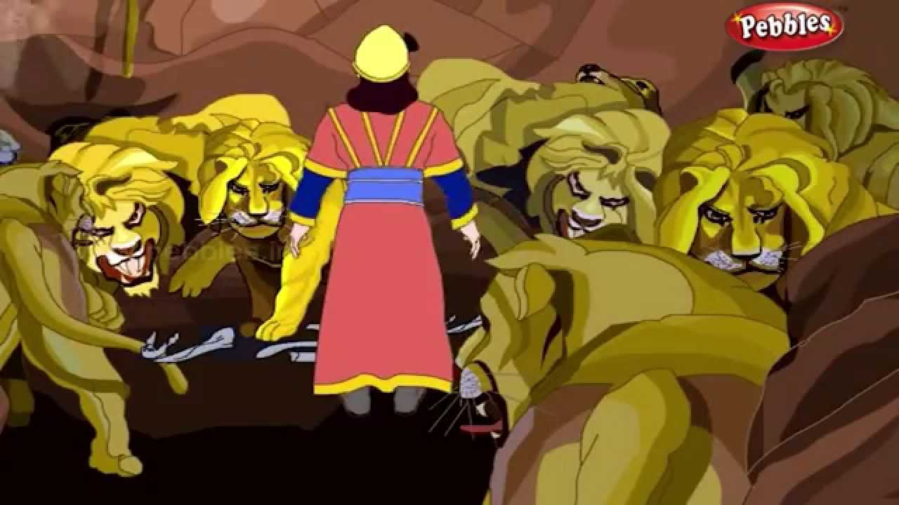 Daniel and the Lions | Bible Stories in Hindi | Bible Wonders | Bible  Prophecy