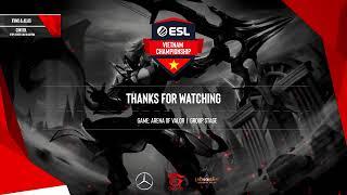 ESL Vietnam Championship - Liên Quân Mobile: FAPtv vs V Gaming