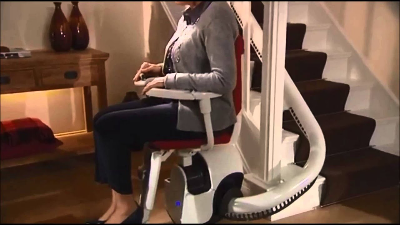 Versatility Flow Curved Stairlift Youtube