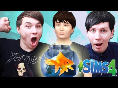 DIL GETS A PET - Dan and Phil Play: Sims 4 #14
