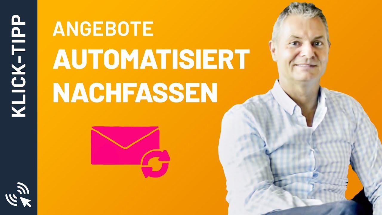 Angebote Automatisiert Nachfassen Mario Wolosz Und Dirk Kreuter