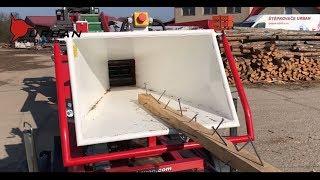 Štěpkování dřeva s hřebíky URBAN