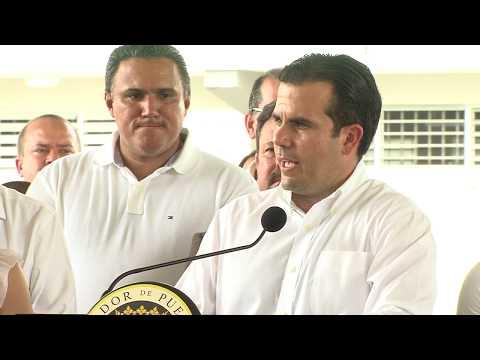 Gobernador Ricardo Rosselló Habla Sobre Carta a Héctor Ferrer — junio 20, 2017