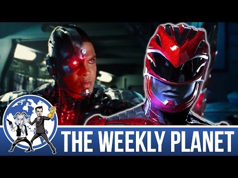 Justice League Trailer & Power Rangers Spoiler Review - The Weekly Planet Podcast