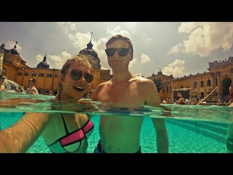 THERMAL BATHS IN BUDAPEST | Széchenyi | Daily Travel Vlog 130, Hungary