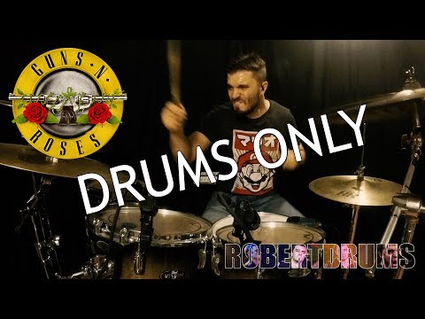 Guns N' Roses - Welcome To The Jungle - (Drums Only)