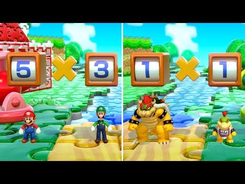 Super Mario Party - All Brainy Minigames